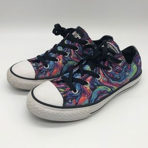 Converse All Star Marble Swirl Tie Dye Shoes